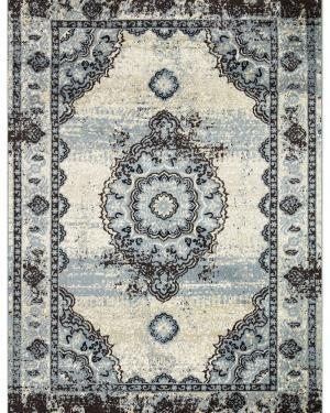 Beverly rug artemis collection vintage area rug 1000a blue bone