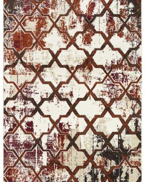 Beverly rug artemis collection vintage area rug 1005a burgundy firered