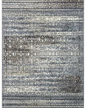 Beverly rug artemis collection vintage area rug 1006a blue grey