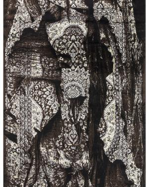 Beverly rug artemis collection vintage area rug 3287a black brown